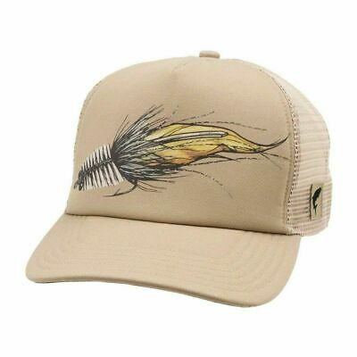 £14.35 • Buy Simms Fly Fishing Products Artist Series Trucker Hat Cap - Color Dune - NEW!
