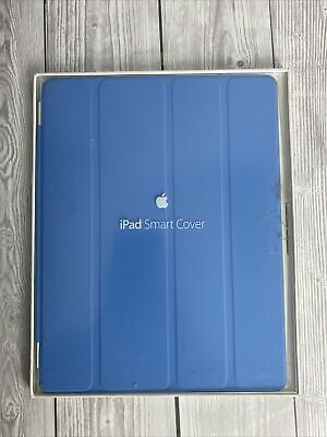 £12.99 • Buy Genuine New Retail Boxed Apple IPad 2 3 4 Blue Folding Smart Cover MD310ZM/A