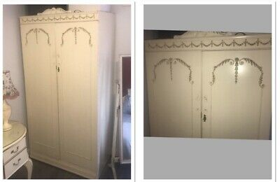 £190 • Buy A Vintage Louis French Rococo Style Bedroom Furniture Set
