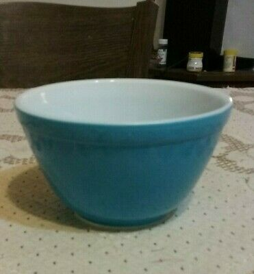 $19.99 • Buy PYREX Blue Primary Mixing Bowl 1.5 Pints