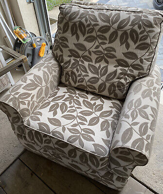 £187 • Buy Marks And Spencer Abbey Large Arm Chair Floral Recliner Superb Condition