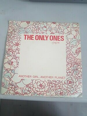 £5 • Buy The Only Ones,  Another Girl Another Planet, Rare 7  Single.
