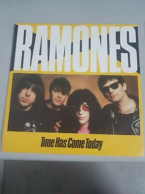 £5 • Buy The Ramones, Time Has Come Today, Very Rare 7  Single.