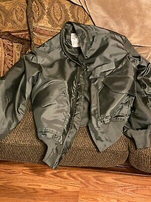 $46.99 • Buy Size Medium New Military Flyer's Cold Weather Jacket 45/p Aramid By Propper