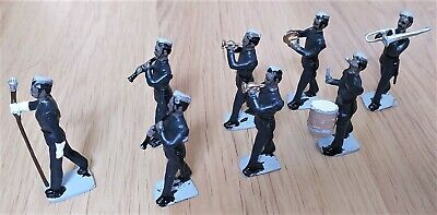 £5 • Buy 8 X British Military Marching Band Lead Soldiers