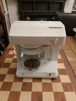 £24.99 • Buy Vintage 1980s Russell Hobbs Filter Coffee Maker Model 3325 High Style In White