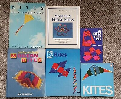 £4.99 • Buy Kite Book Bundle Making And Flying Modern Kites For Everyone That Fly Vintage