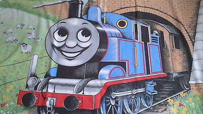£12.99 • Buy Vintage Thomas The Tank Engine Single Duvet Cover And Pillow Case