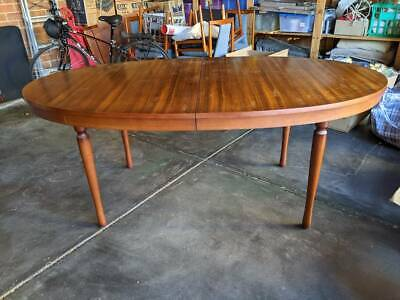 AU130 • Buy Mid Century Extendable Oval Dining Table