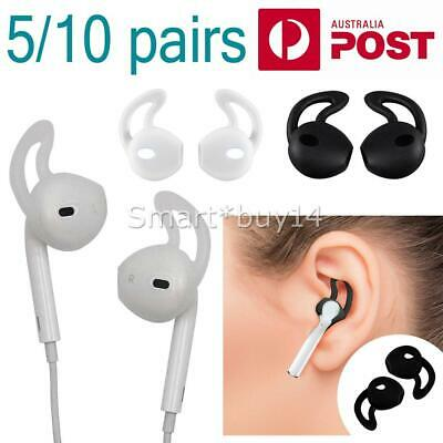 AU8.95 • Buy 5/10 Pairs Silicone Ear Hooks Skin Cover For Apple AirPods AirPod Headphones AU