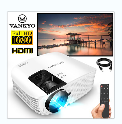 AU169.99 • Buy VANKYO Leisure 510 Projector 1080P Home Theater Movie HDMI USB Android IOS Video