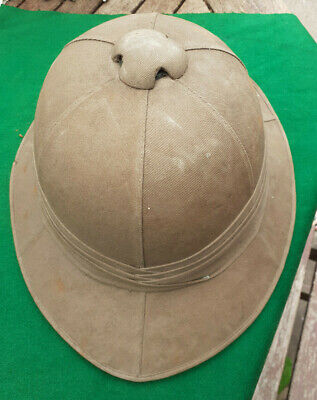 £135 • Buy 1940's  WWII Military VEROS Royal Letters Patent 228467  PITH HELMET / TOPEE