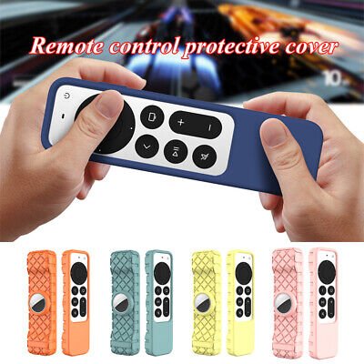 AU6.29 • Buy Silicone Remote Protective Case For Apple TV 4K 2nd Gen Siri 2021 Air Tag Cover