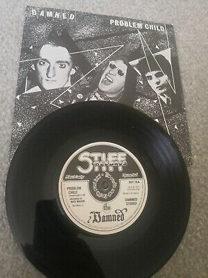 £7.50 • Buy The Damned: Problem Child 1977 Stiff BUY18A 7  Vinyl Single EXCELLENT +1st Press