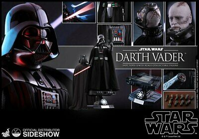 $ CDN1019.62 • Buy Sideshow Collectibles 1:4 Star Wars Darth Vader Hot Toys Action Figure #902506