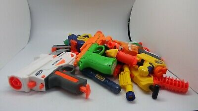 AU24.20 • Buy Nerf Guns + Nerf Type Toys Job Lot - Weighs Approx 2kg - See Descriptions