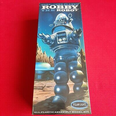 £79.99 • Buy Polar Lights Robby The Robot Plastic Model Kit New And Sealed Forbidden Planet