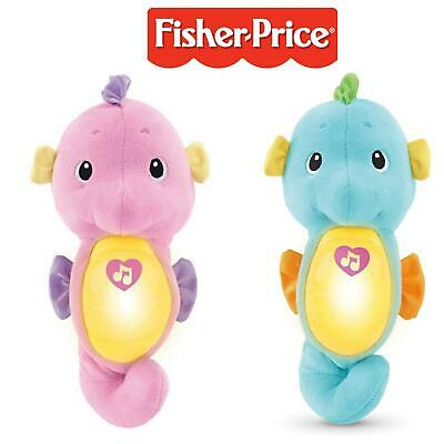 £19.99 • Buy Fisher Price Soothe & Glow Seahorse Baby Toy Soothing Music Babies Pink Blue New