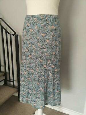 £10 • Buy Cotton Traders - Ladies Size 22 Spring Summer Long Skirt Floral