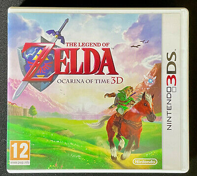 £10 • Buy The Legend Of Zelda Ocarina Of Time 3D Nintendo 3DS, Used Perfect Condition