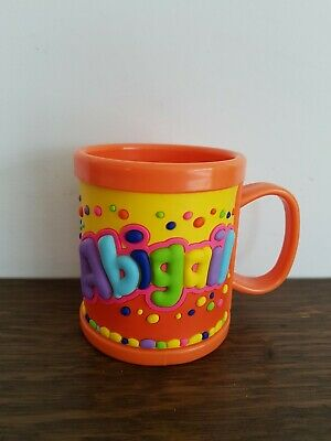 £0.99 • Buy  Personalised Kids Mugs - ABIGAIL -  Other Names Available On Separate Listings