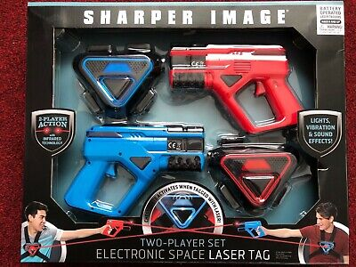 £14.99 • Buy Sharper Image Laser Tag Two Player Action W/Infrared T. Electronic Laser Tag Set