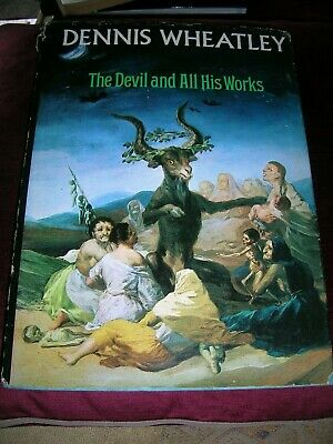 £8 • Buy Dennis Wheatley The Devil And All His Works Illustrated Book Arrow Books 1973