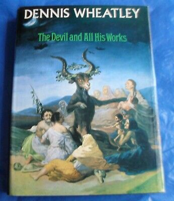 £6.66 • Buy Dennis Wheatley's The DEVIL And All His Works Book Occult Satanism Witches