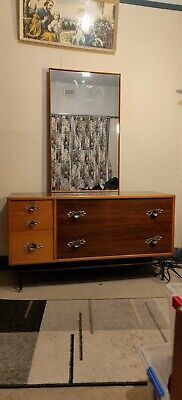 AU300 • Buy Antique Furniture Wardrobe And Dressing Table