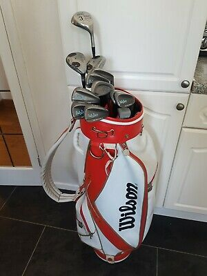 AU264.38 • Buy Set Of Ladies Wilson Patty Berg Cup Defender Golf Clubs, Right Handed