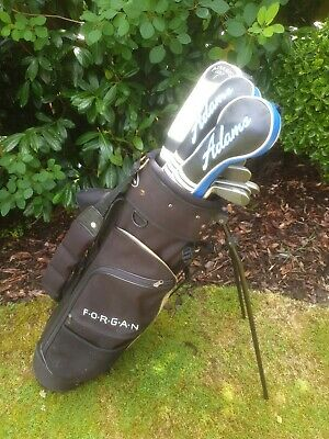 AU434.34 • Buy Full Set Of Mens Adams Tight Lies Gt Graphite Tip Golf Clubs, Right Handed