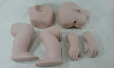 £90.12 • Buy  Baby Doll Tibby Terrible Twos Donna Rubert 1997 Parts Reborn Ceramic
