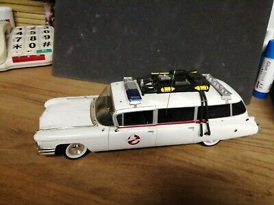 £12.99 • Buy Real Ghostbusters Ecto 1 Metal Detailed Model In Good Condition Ghostbusters