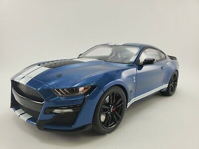AU84.24 • Buy 2020 Ford Mustang Shelby GT500 Performance Blue 1:12 Resin By GT Spirit (US023)