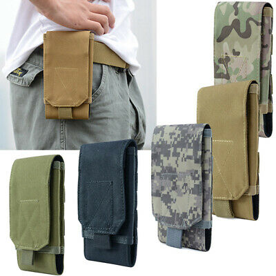 $6.99 • Buy Tactical Army Military Molle Pouch Cell Phone Case Waist Pack Belt Bag 6  Pocket