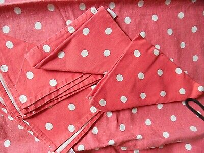£11 • Buy Cath Kidston - Red Polka Dot Large Tablecloth And Four Matching Napkins