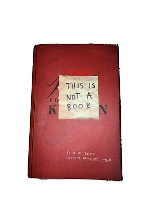 £1.30 • Buy This Is Not A Book By Keri Smith (Paperback, 2011)