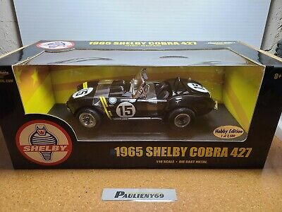 £32.72 • Buy 1965 Shelby American Cobra 427 #15 1:18 Ertl American Muscle Hobby Edition NOS