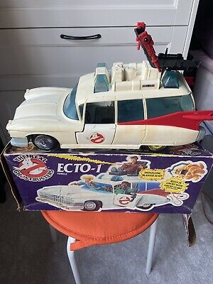£20 • Buy Vintage 1984 Kenner The Real Ghostbusters Ecto 1 Car, With Box And Roof Seat.