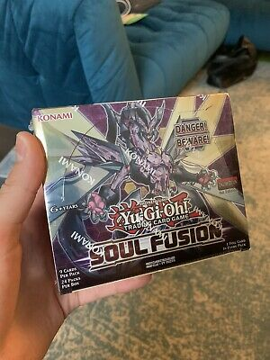 £55 • Buy YuGiOh Soul Fusion Sealed Booster Box Of 24 Packs   1st Edition   YGO TCG