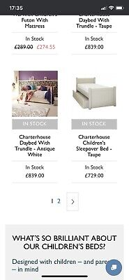 £60 • Buy Two Single Sleepover Beds Including 4 Matresess.