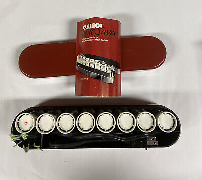 £20.37 • Buy Clairol Time Saver Portable Quick Heat Rollers PTC-8 Travel Vintage