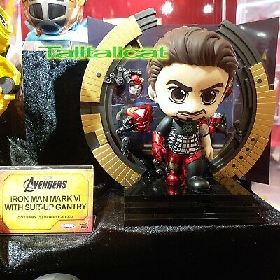 $ CDN79.29 • Buy Marvel Hot Toys The Avengers COSB869 Iron Man Mk VI With Suit-Up Gantry Cosbaby