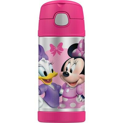 AU22.40 • Buy Thermos FUNtainer Vacuum Insulated Drink Bottle 355mL - Disney Minnie Mouse