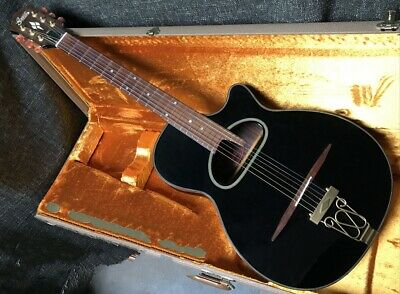 $1082.80 • Buy Used 1990s Greco FDK-90 Limited Edition Black Maccaferri D Hole W/CHIP BOARD CAS