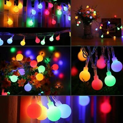 £1.99 • Buy Fairy String LED Ball Battery Operated Lights Party Home Decor + Remote Control
