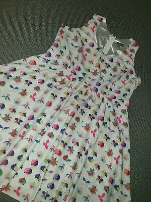 AU15 • Buy Plus Size City Chic Fit And Flare Retro Style Iris Dress XL Amazing Condition 22