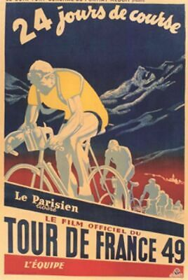 £3.95 • Buy TOUR DE FRANCE 49 Printed Poster A4 A3 A2 Cave Cycling Cafe Bike Bar Sign Shed