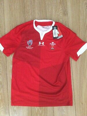 £29.99 • Buy Wales Under Armour Rugby World Cup Shirt Brand New Size Medium