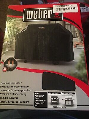 $ CDN121.18 • Buy Weber 7135 Premium Grill BBQ Cover - For GENESIS 2 400 Series BRAND NEW SEALED
